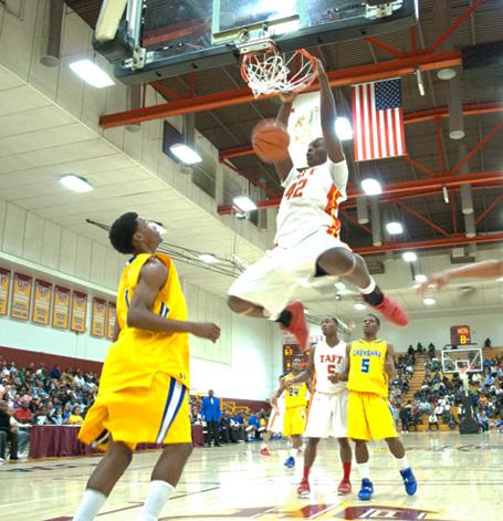 LA City Section Boys Basketball Semifinals: Taft vs ...
