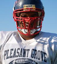Arik Armstead.  Oregon Ducks football commit 2012.  Elk Grove. Pleasant Grove HS