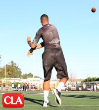 steve clarkson quarterback camp, brandon dawkins oaks christian, wilson speight