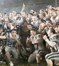De La Salle Spartans Football.  CIF State Footbal Champions, 2009, 2010, 2011.