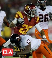 Dillon Baxter, USC, Dismissed, Trojans, SDSU, Baker University, San Diego St.