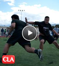 PrimeTime Polynesian prep football clinic, corona, ca, centennial high school